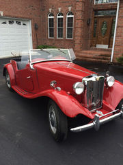 1951 MG T-Series 793 miles