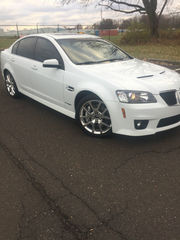 2009 Pontiac G8 GXP Sedan 4-Door