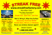 STREAKFREE CLOTH Cleaning Product