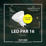 Install UV and Mercury Free LED PAR16 Bulbs for General Lighting